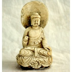 Seated chinese Buddha in...