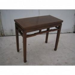 Console chinoise en bois...