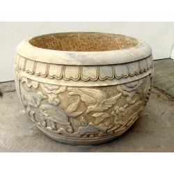 Bonzai pot for outdoor