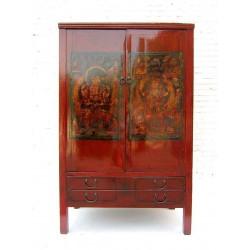 Antique cabinet-tibetan...