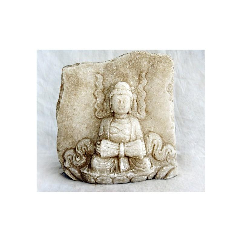 Erleichterung mit chinesischer Buddha