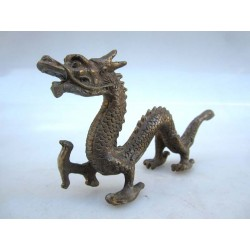 Chinese bronze. Dragon