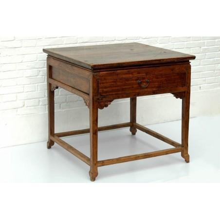Table ancienne de style Ming 88 cm