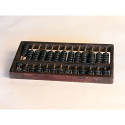 Antique chinese abacus