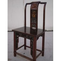 Chaise chinoise en hêtre