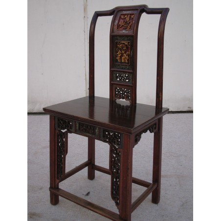 Chinese elm wood chairs