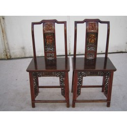 Chinese antique elm wood chairs