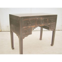 Small Chinese desk in pine...
