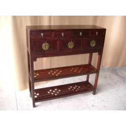 Chinese console table with...