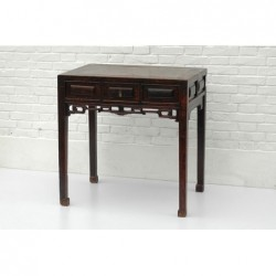 Table chinoise ancienne 83 cm