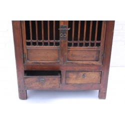 Elm wood chinese cabinet 83cm