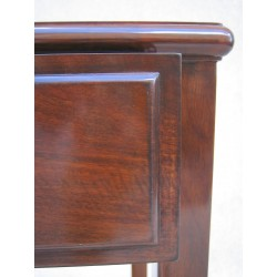 Chinese rosewood desk with two drawers 106cm