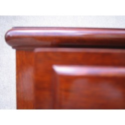 Chinese desk in yellow rosewood  106cm