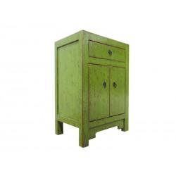 Petit meuble chinois vert...