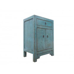 Small chinese green cabinet...
