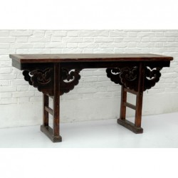 Antique chinese console...