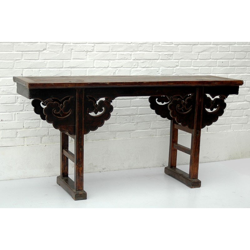 Antique chinese console table 164 cm