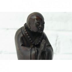Stehend Mönch aus bronze