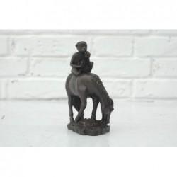 Bronze. Cinesisches Pferd