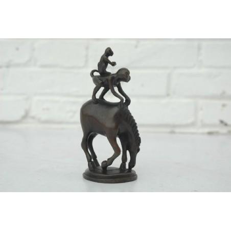 Ma Shang Feng Hou en bronze