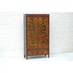 Tibetan cabinet with...