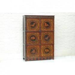 Tibetischer Schrank mit...