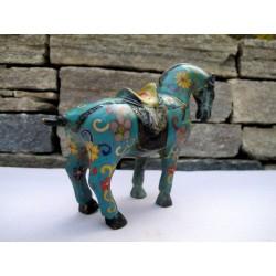 Emaille-Cloisonne-Pferd