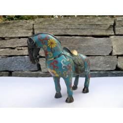 Cloisonné horse