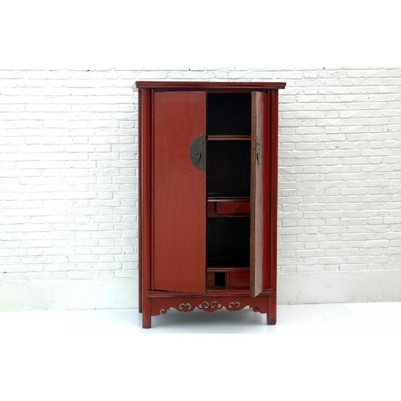 Red Ming style wardrobe 110cm