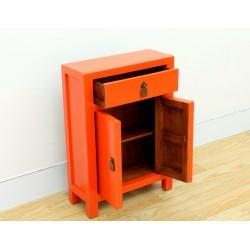 Petit meuble chinois orange...