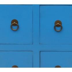 Petit meuble chinois bleu de jingtai