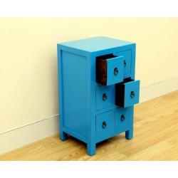 Petit meuble chinois bleu...