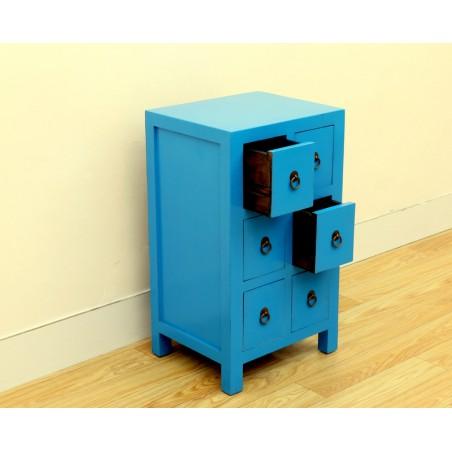 Chinese jingtai-blue small cabinet