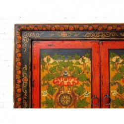 Tibetan wardrobe with painting  117cm (sold by unit)