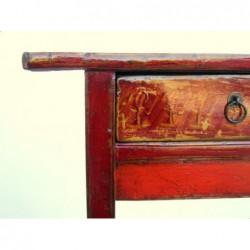 Antike Mongolische Konsoltisch 140 cm