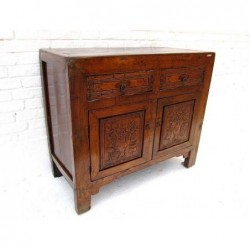 Antique carved chinese...