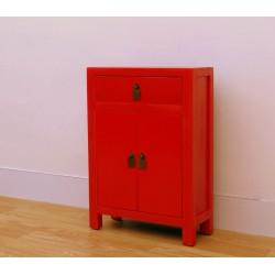 Petit meuble rouge de chine...