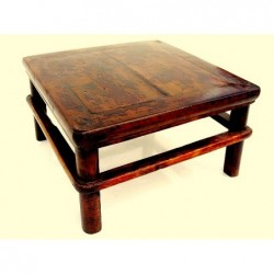 Natural wood chinese tea table 50cm