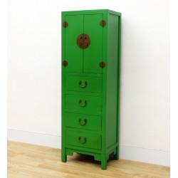 Meuble chinois vert 50 cm