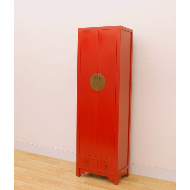 Chinesischer Roter Schrank 62 Cm China Collection