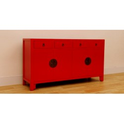 Chinese red sideboard 150 cm