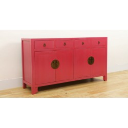 Chinese purple sideboard...