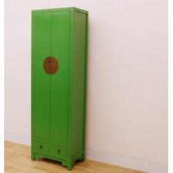 Chinese green tall-cabinet...