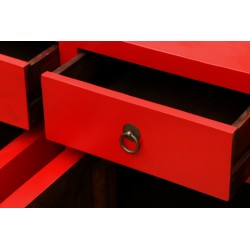 Red color sideboard (170 cm)