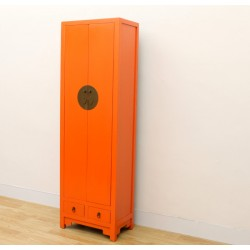 Chinese orange cabinet 62 cm