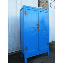 Chinese light-blue cabinet...