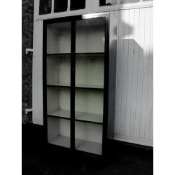 Large black display cabinet...