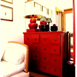 Antique-red Chinese...