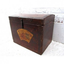 Painted chinese trunk 50cm