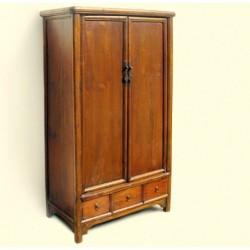 Ming style wardrobe in elm...